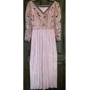 Vintage   Sequined Embellished Dress